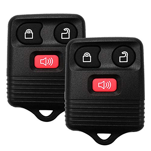YITAMOTOR Key Fob Compatible for 1998-2016 Ford F150 F250 F350 Keyless Entry Remote 3 Button Replacement for CWTWB1U331, CWTWB1U212, CWTWB1U345, GQ43VT11T