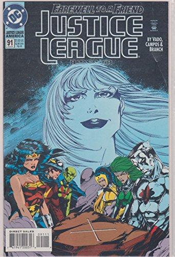 Justice League America #91 Heroes Passage (91 Justice League America)