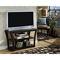 Ashley Furniture Signature Design - Ellenton TV Stand - Contemporary - 2 Shelves - Brown