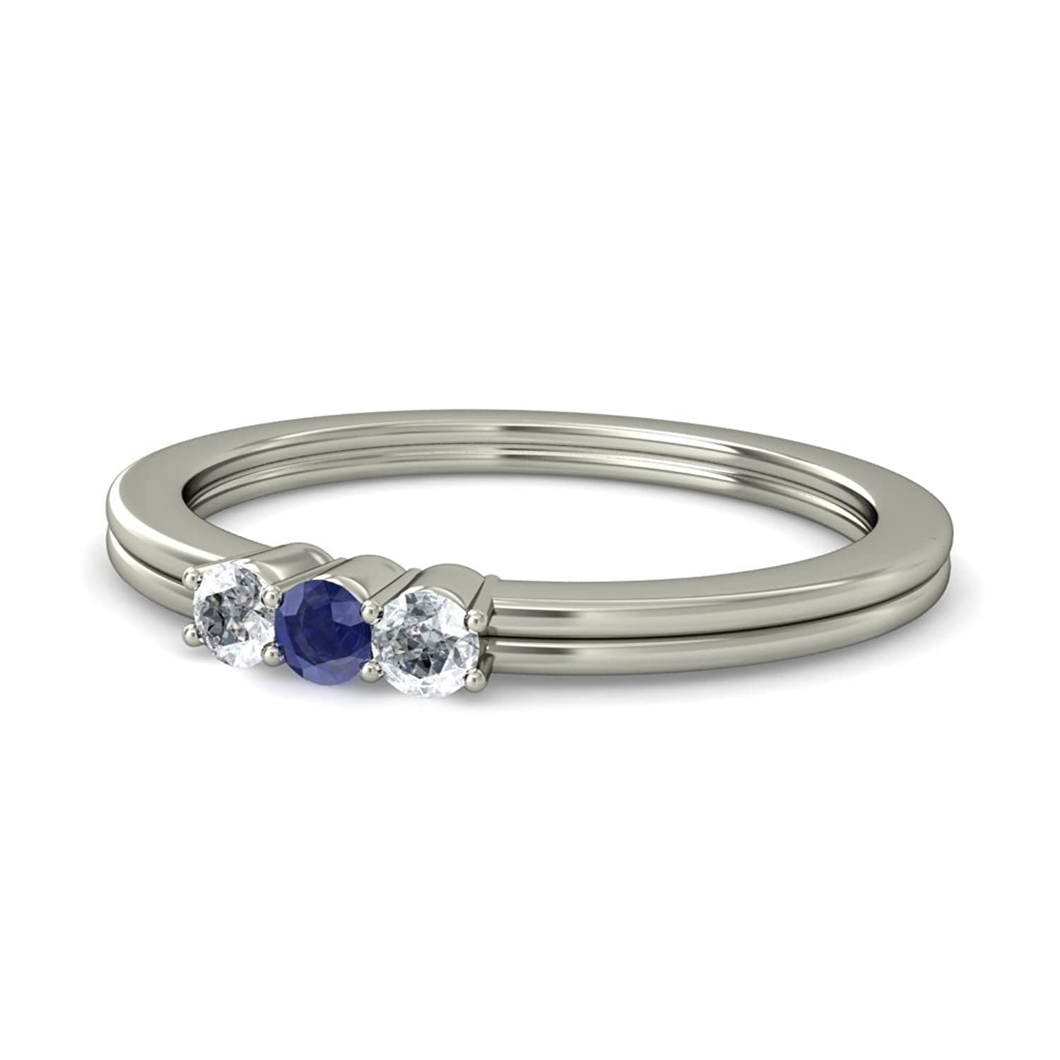 arbor image solitaire bluestone ceylon sapphire ring products brunswick
