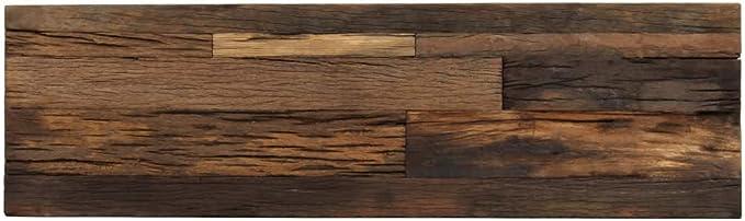 Festnight Mesa Consola Estilo Industrial de Madera de Traviesas y Acero 120x35x76 cm: Amazon.es: Hogar