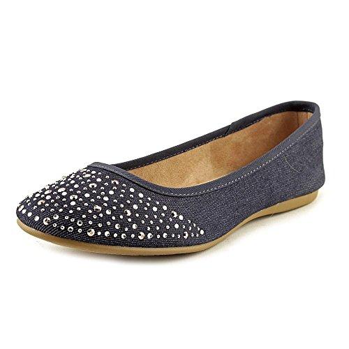 Style & Co. Frauen Angelynn Geschlossener Zeh Gleit Sandalen Blau Groesse 6 US /37 EU