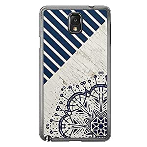 Loud Universe Samsung Galaxy Note 3 Madala N Marble A 4 Printed Transparent Edge Case - Multi Color