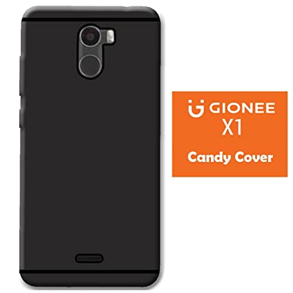 official photos a48f2 0b9a0 Snazzy Premium Black Candy Back Cover For Gionee X1: Amazon.in ...