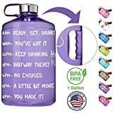 Best Gallon Water Bottles - NatureWorks HydroMATE Gallon Motivational Water Bottle with Time Review