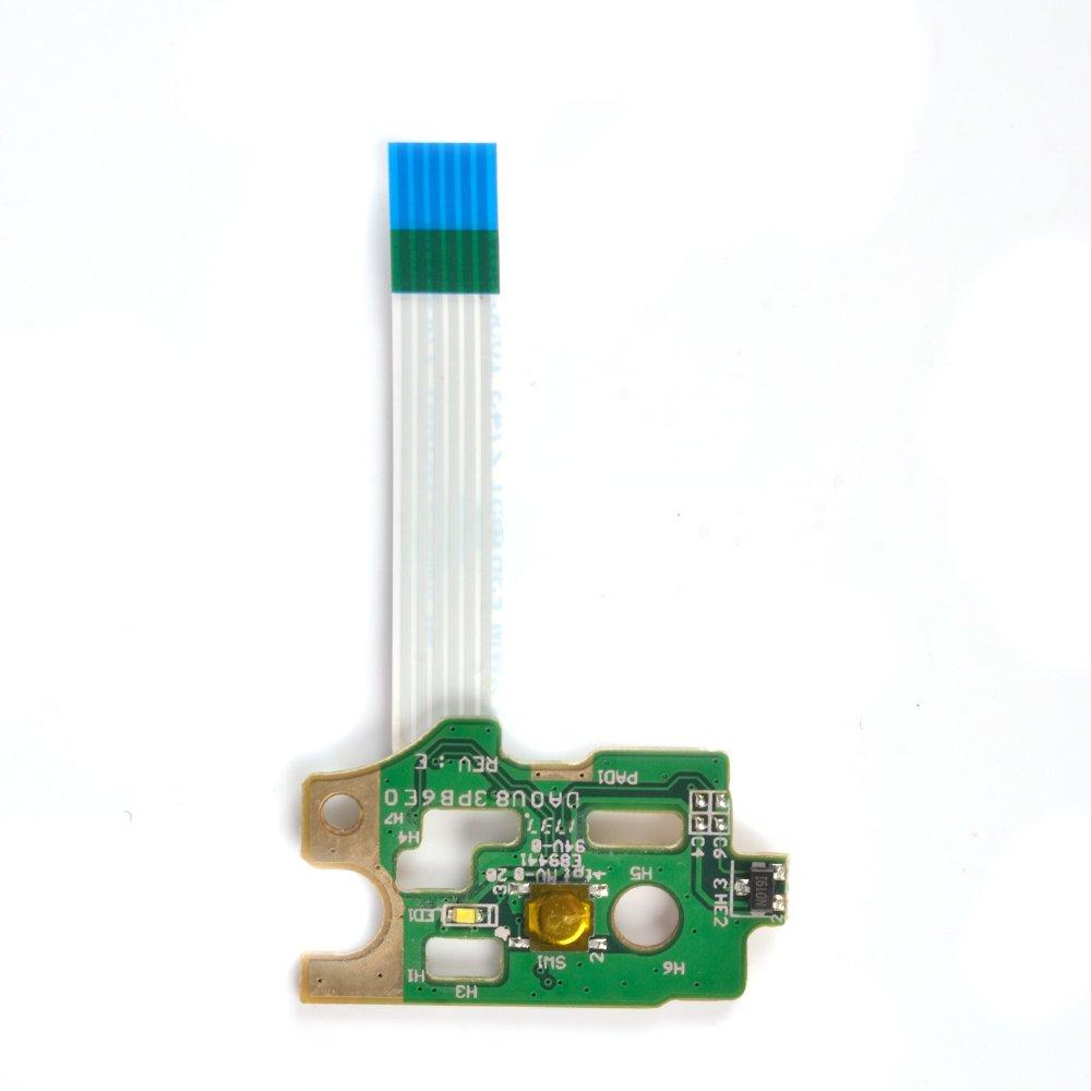 Eathtek Replacement Power Button Board DA0U83PB6E0 switch 732076-001 for HP Pavilion 15-N Series