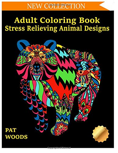 Pdf Crafts Adult Coloring Book: Stress Relieving Animal Designs (Stress Relieving Designs) (Volume 1)