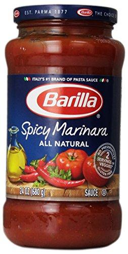 Barilla Pasta Sauce, Spicy Marinara, 24 oz