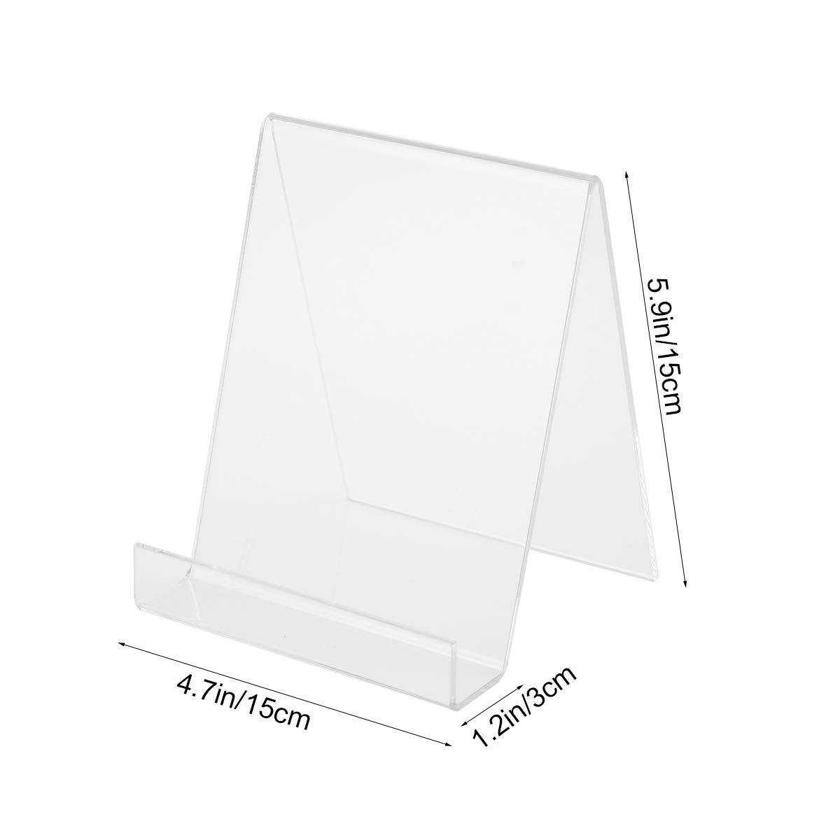 Amazon.com: Toyvian - Soporte de acrílico transparente para ...