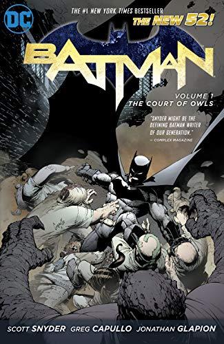 Batman (2011-2016) Vol. 1: The Court of Owls (Batman Graphic Novel) (Best New 52 Series)