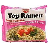 Nissin Top Ramen Noodles Shrimp Flavor - 5 Pack