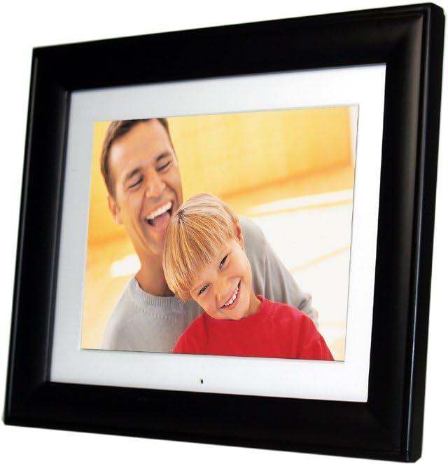 Pandigital 8.0-Inch Digital Photo Frame w//2 Interchangeable Frames /& 128MB Built-in Memory