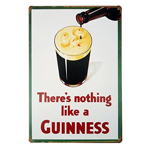Mega-deal There's Nothing Like a Guinness Retro Vintage Tin Sign 12