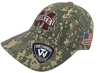 Top of the World Mississippi State Bulldogs TOW Digital Camouflage Flagship Adjustable Hat Cap from Top of the World