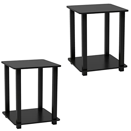 Amazoncom Small Nightstands Bedroom Set Of 2 Cheap Bedside