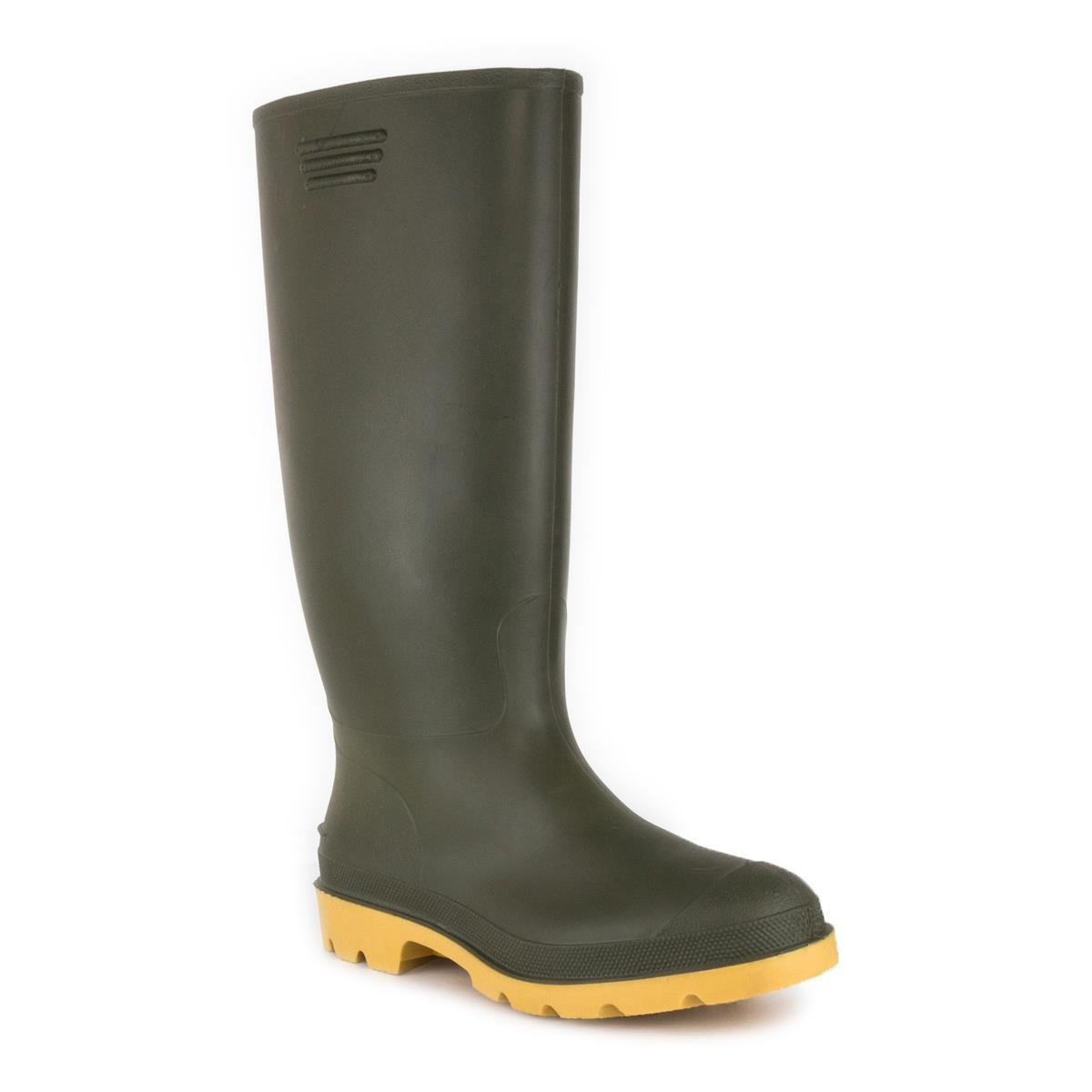 Zone Hearts Wellington Boot in Green - Adult Sizes 7-12 - Size 9 UK/10 US - Green by Zone Hearts