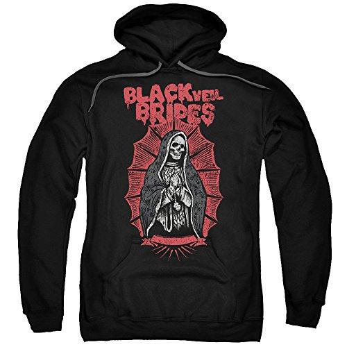 Black Veil Brides - Santa Muerte Adult Pull-Over Hoodie