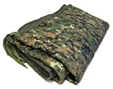 HSD Mini Woobie Military Style Poncho Liner Kids Baby Blanket (MARPAT Digital Woodlands, Adult)