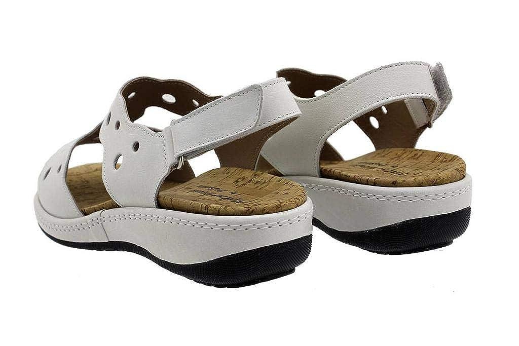 Zapato C/ómodo Mujer Sandalia Plantilla Extra/íble 190905 PieSanto