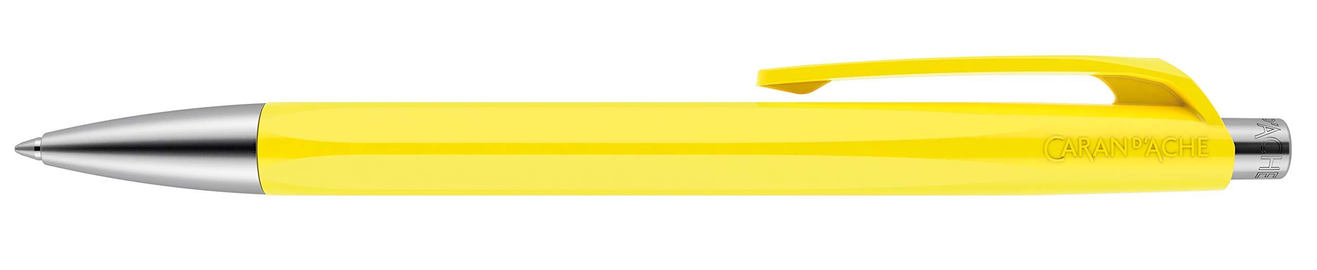 Caran Dache 888 Infinito Boligrafo Resina Amarilla Limon Cu