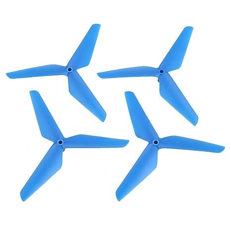 Qewmsg 2 Pares CW/CCW hélice Props Blade para Syma X5C RC Drone ...