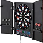 Fat Cat Electronx Electronic Dartboard, Built In Cabinet, Solo Play With Cyber Player