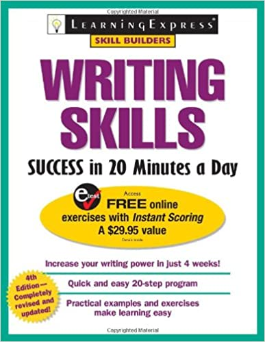 Amazon writing skills success in 20 minutes a day writing skills success in 20 minutes a day 4th edition fandeluxe Image collections