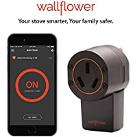 Wallflower Smart Monitor for Electric Stoves: Smartphone...