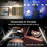 dodocool LED Desk Table Lamp, Wireless Rechargeable Table Lamps Office Light with USB Charging Port, Eye-Friendly LED, Stepless Brightness Table Lamp with Magnetic Base