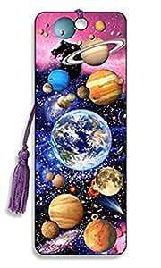 3d marcapáginas en espacio diseño con borla de seda se venden por Trendz