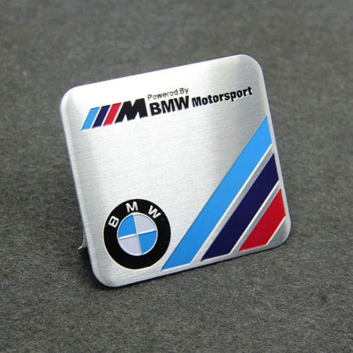 Motorsport Aluminum Emblem Sticker Decal Badge For BMW from JD PARTS LLC