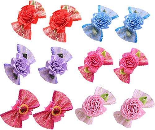Rose Dog Bows - 5