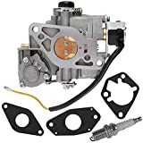 TOPEMAI 2485334S Carburetor for Kohler CH25 CH22 CH20 CH26 Command Engines, Replace 2485334-S with Spark Plug