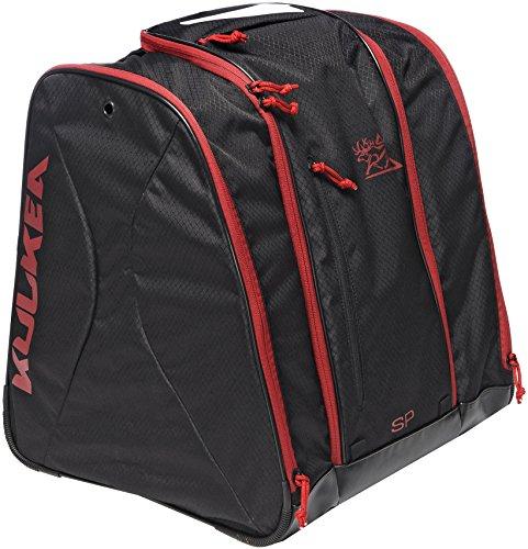 KULKEA Speed Pack Ski Boot Bag - 53L Black/Red
