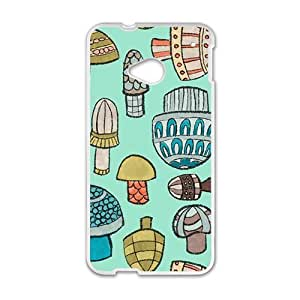 Cute Mushroom Creative Cell Phone Case For HTC M7 by mcsharksby Maris's Diary