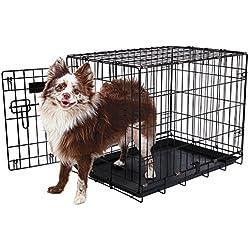 """Aspen Pet Single-Door Home Training Crate, 24""""W x 17""""D x 20"""""""
