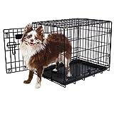 Aspen Pet Single-Door Home Training Crate, 24″W x 17″D x 20″