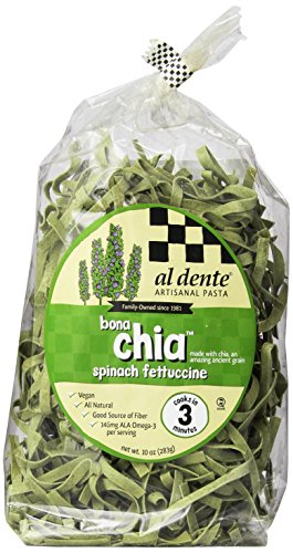 (AL DENTE PASTA CHIA VEGAN SPINACH 10OZ)