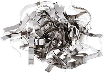 sharprepublic 100pcs Spring Clips To Hold Framed Object Snugly Against Metal Frame Molding