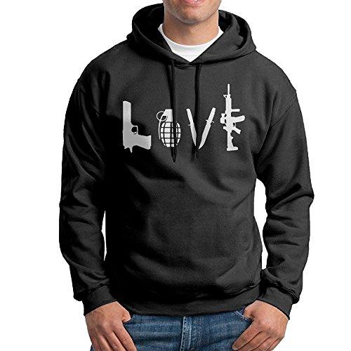 Best Love Gun Grenade Knife Cool - Men's Charlottesville Clothing