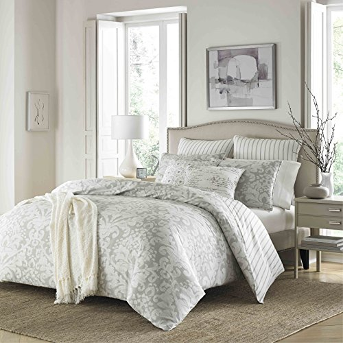 Stone Cottage Camden Comforter Set, King, Gray