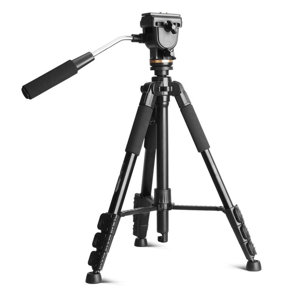 Portable Aluminum SLR Camera Tripod, DV Photography/Camera Live Travel Outdoor Selfie Tripod by ZQ
