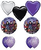 Disney The Descendants Happy Birthday Balloon Decoration Kit by Anagram