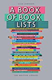 """A Book of Book Lists A Bibliophile's Compendium"" av Alex Johnson"