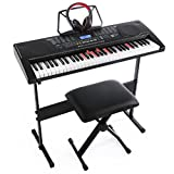 Joy KL-91M With USB & 61 Lighted Keys Simulation Piano Keyboard Starter Pack