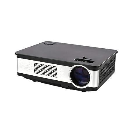 Rwdacfs Proyector 3300 lúmenes HD 1080p Oficina dedicada pequeña ...