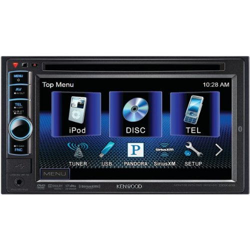 Kenwood DDX419 In-Dash Head Unit Car Stereo