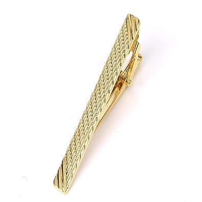 Clip corbata Yuan Ou Goldren Tie Clip Para Hombres Classic Meter ...