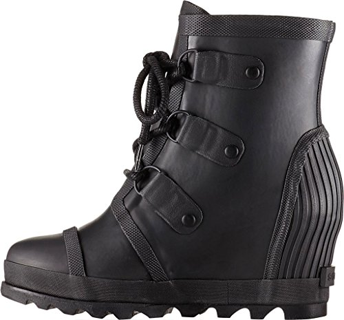 Salt B Sea 5 US Black Women's SOREL Booties M Joan 6 Rain Wedge 0wFqnx1WBv