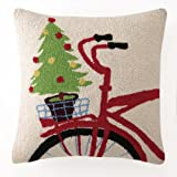 Christmas Tree & Bike Hook Pillow